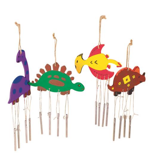 dinosaurs wind chimes