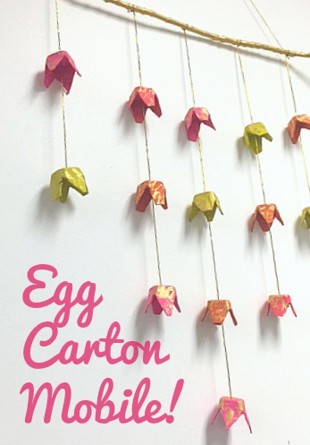 Egg Carton Mobile