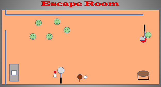Escape room physed activity
