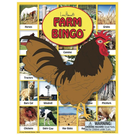 Farm bingo activity