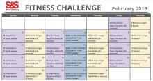 February Fitness Calendar 2019 fb 2