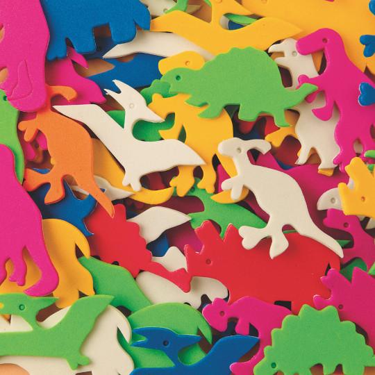 dinosaurs foam shapes