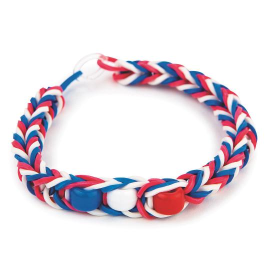 Fourth of July bracelet craft kit