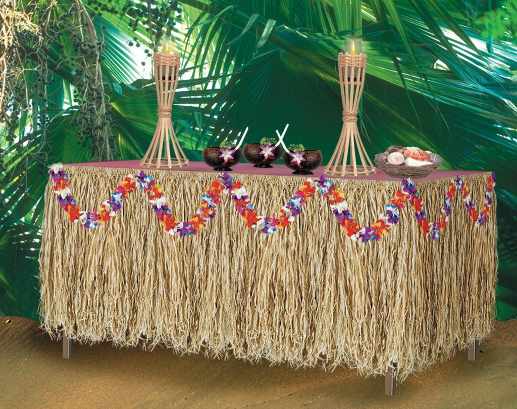 host a luau party