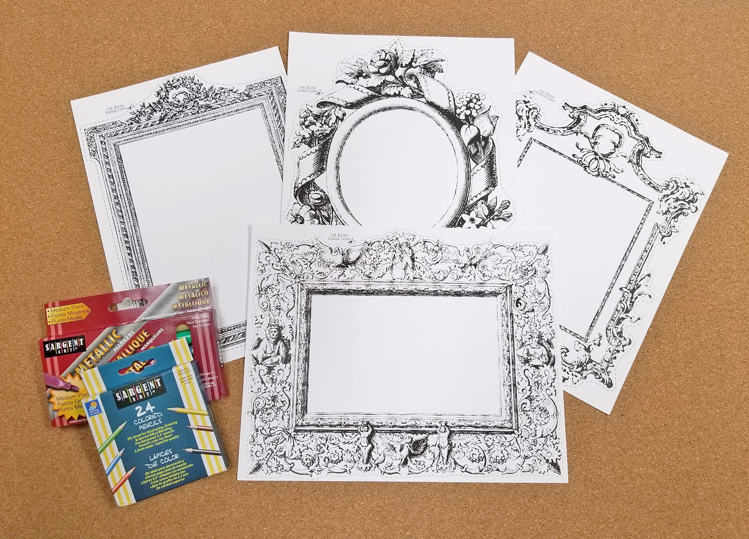 Historical frames craft