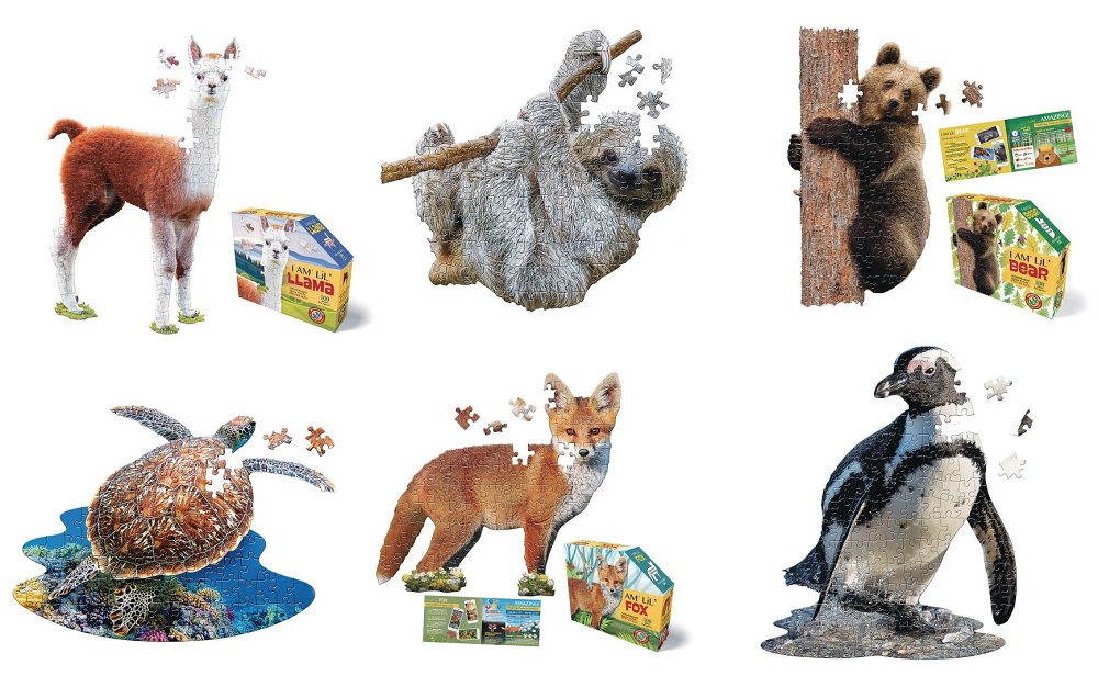 I am lil animal puzzles