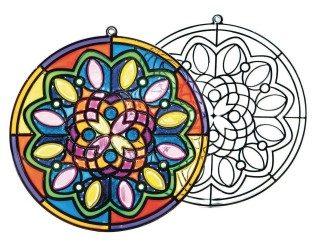 Jumbo Mandala Sun Catcher