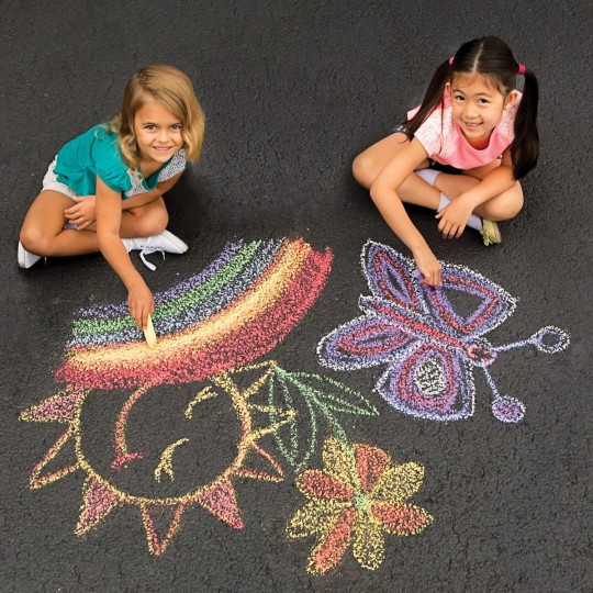 Jumbo Sidewalk Chalk Kids