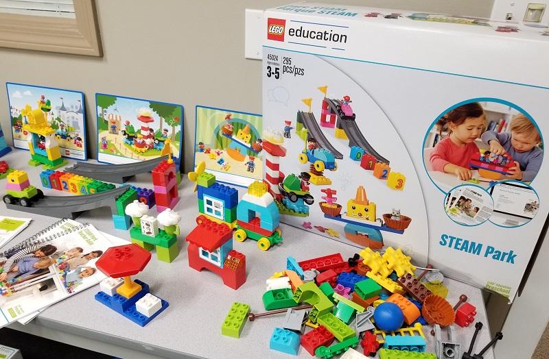 Lego STEAM Park Set