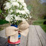 Memorial Day Mason Jars