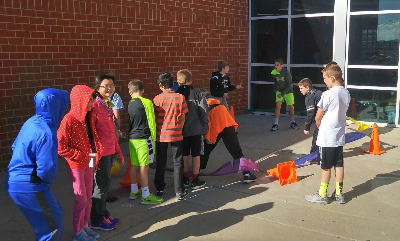 Middle School recess