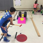 Mini Golf Lesson for Physical Education