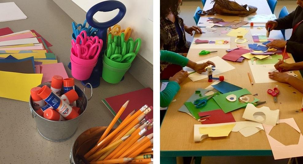 Museum craft program