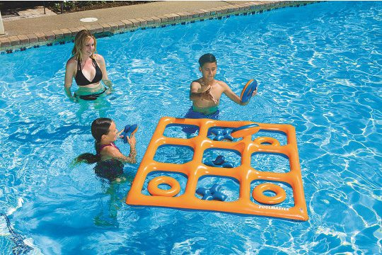 pool toy tic tac toe inflatable