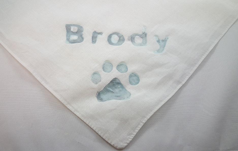 National Dog Day bandana craft