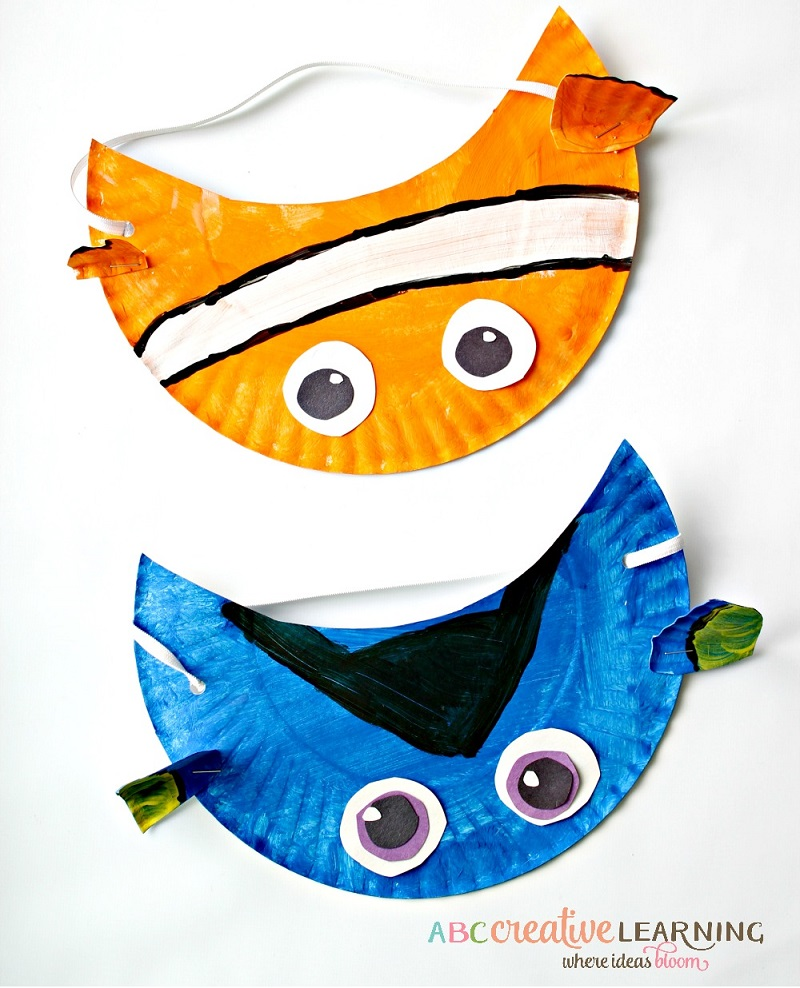 paper crafts finding dory and nemo