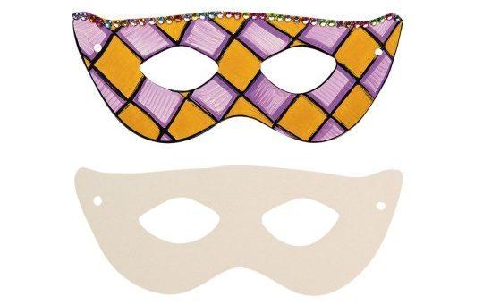 Paper Half Masks