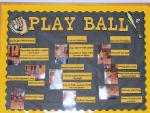 Baseball physed board