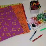 DIY Patterned Rubbing Plates & Watercolor Resist Art