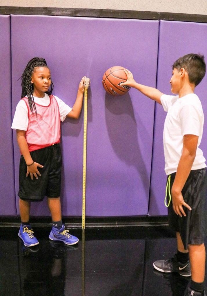 STEM Sports Basketball measure