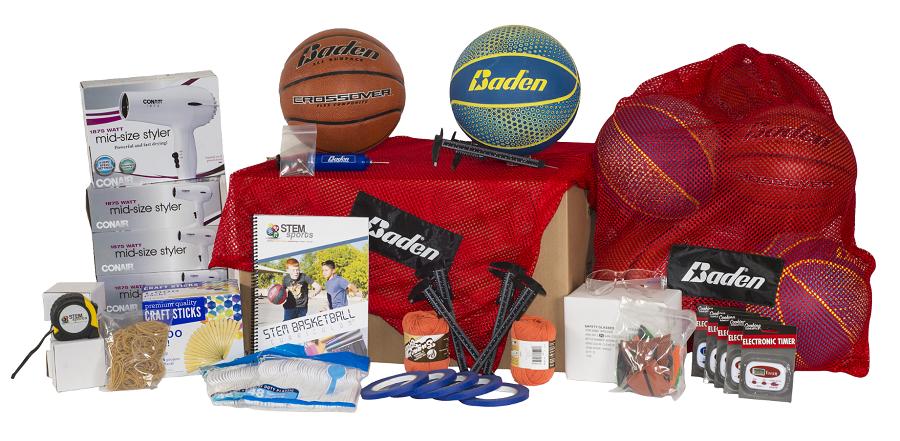 STEM Sports basketball curriculum kit