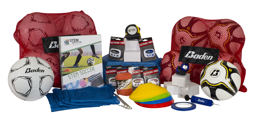 STEM Sports soccer curriculum kit