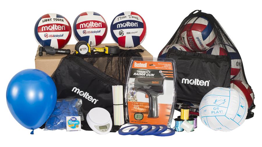 STEM Sports volleyball curriculum kit