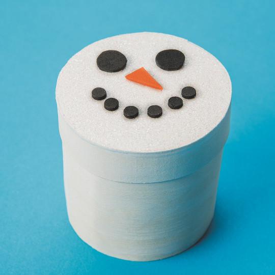 christmas snowman craft