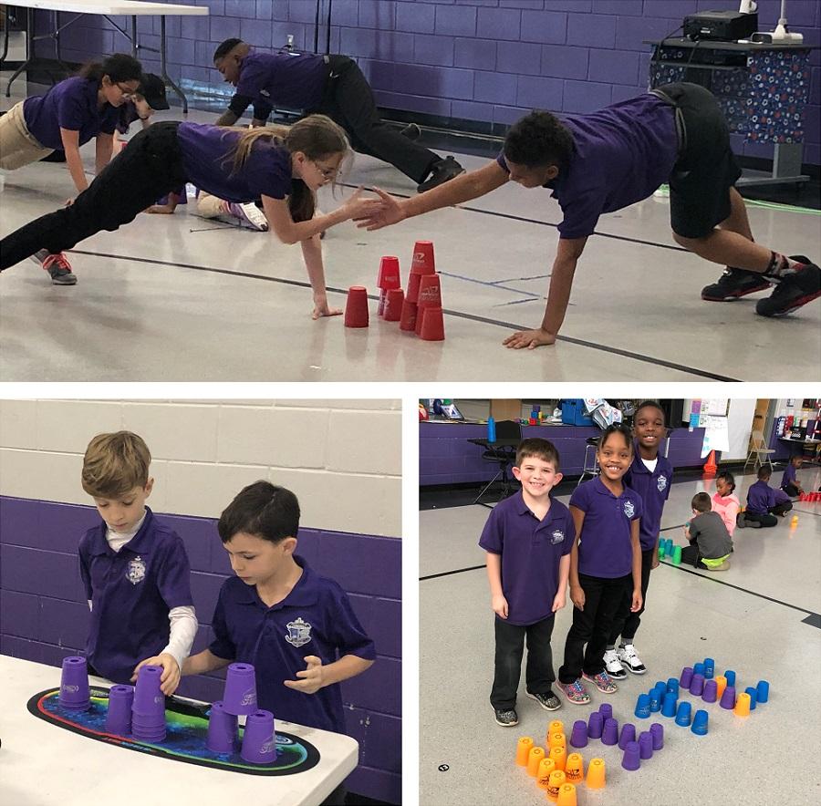 Speed Stacks Skillastics teamwork