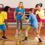 Wall, Net and Floor Game Variations to Spike and Slam Ball Play