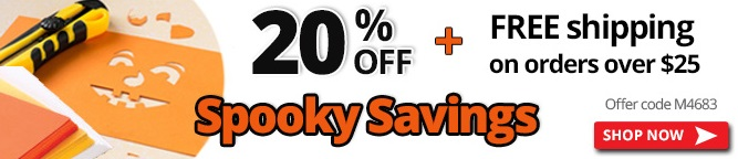 Halloween Spooky Savings