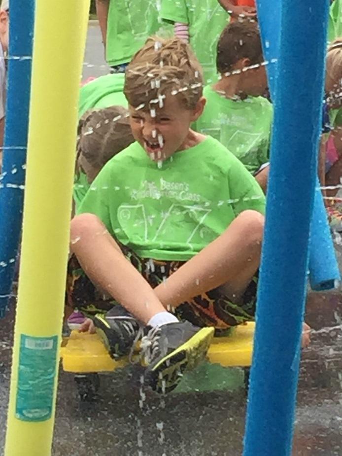 Kids Field Day car wash