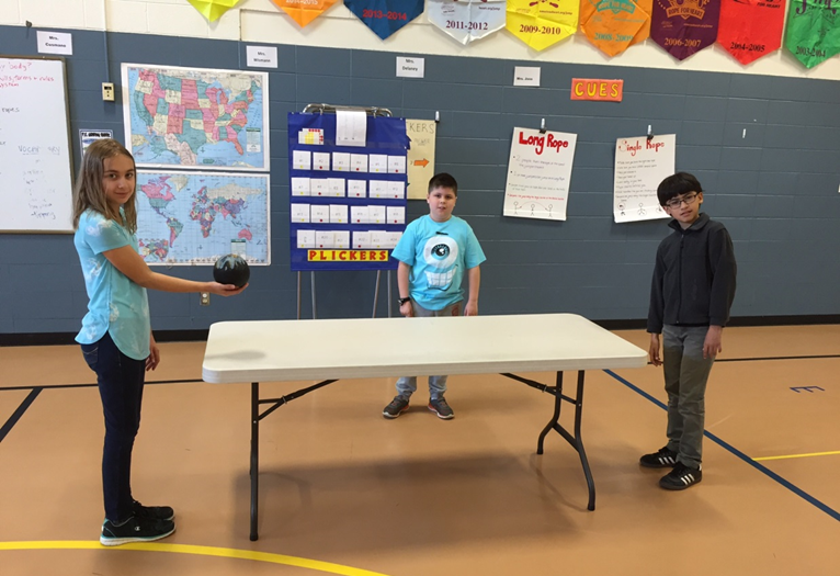 Table Ball PE Activity Striking Unit