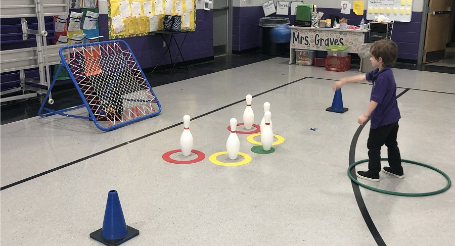 Tchoukball game physed