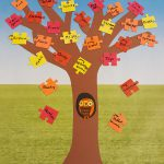 Thanksgiving Puzzle Tree Craft for the Classroom