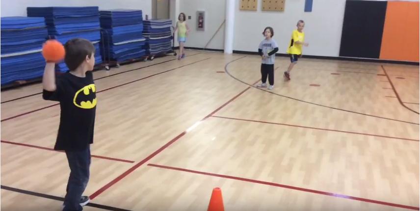 Overhand throwing PE