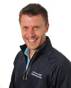 Tom Erskine PE teacher