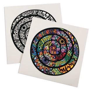 Velvet Art Inspirational Mandala