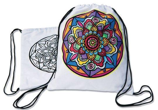 Velvet Art Mandala Backpack