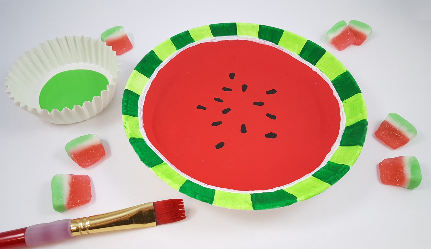 watermelon craft activity