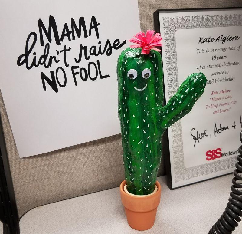 Wiggly eyed Plast'rcraft® Cactus