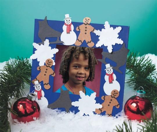 winter frame craft idea