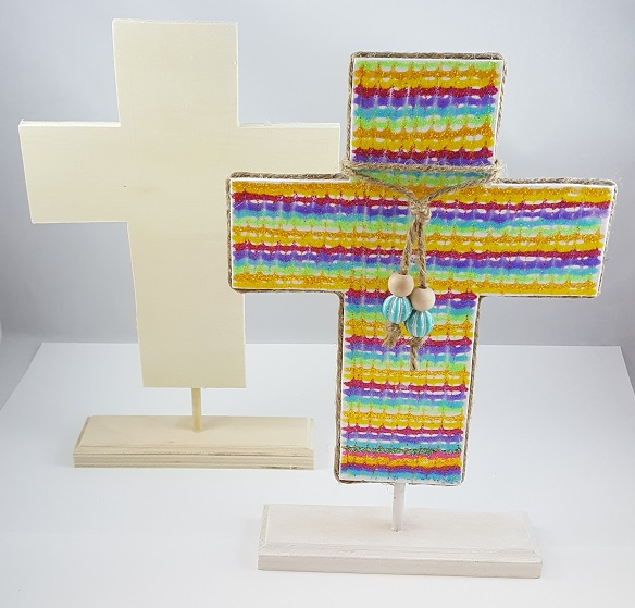 Wooden cross christian craftt