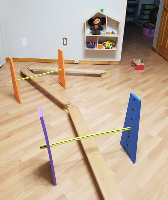 adjustable height hurdles