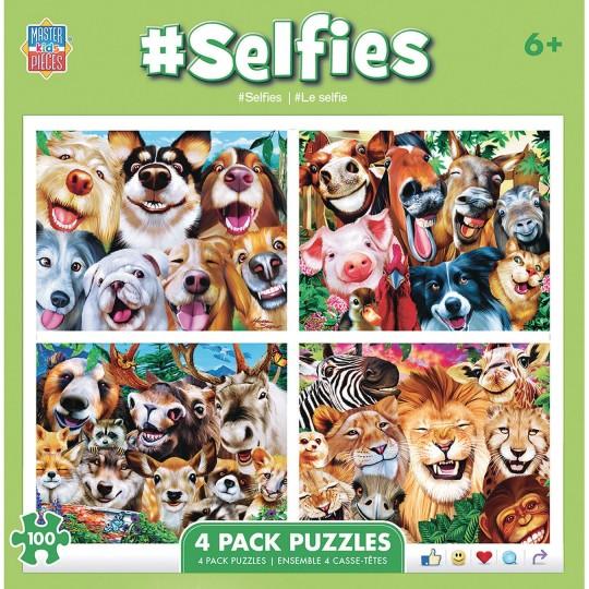 animal selfie puzzles