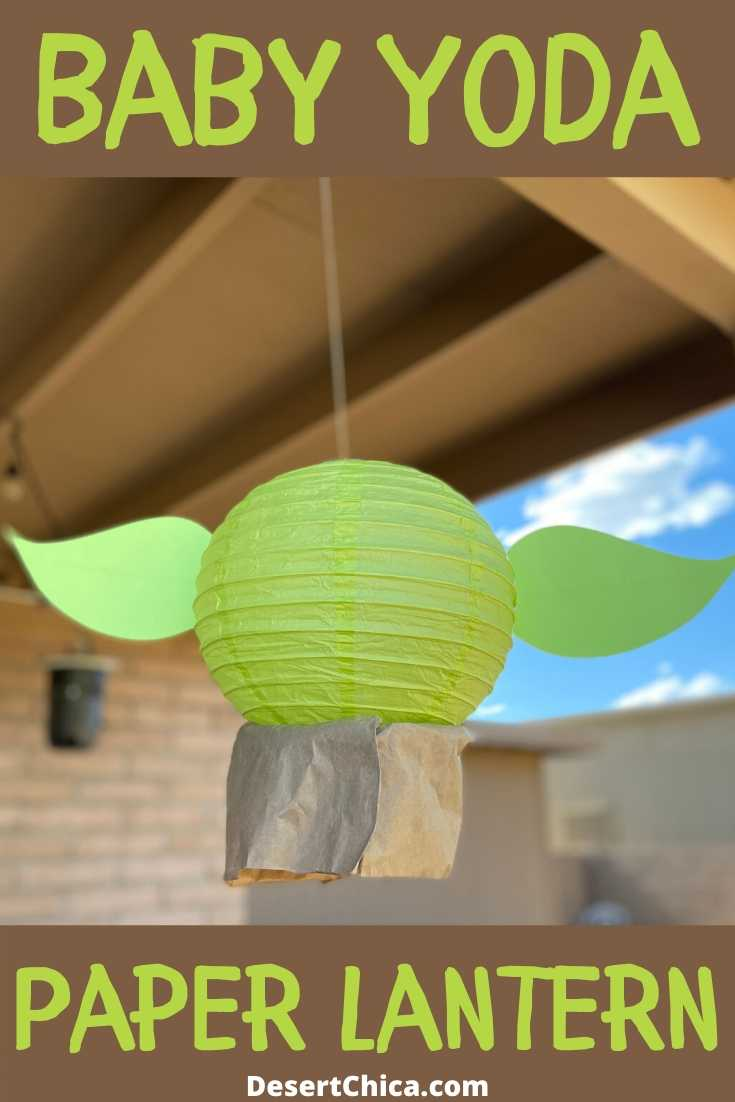 baby yoda lantern