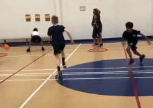 baseball tag activity PE