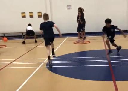baseball tag activity PE