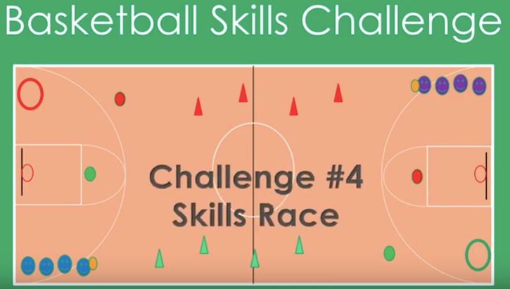 basketball challenge Physed