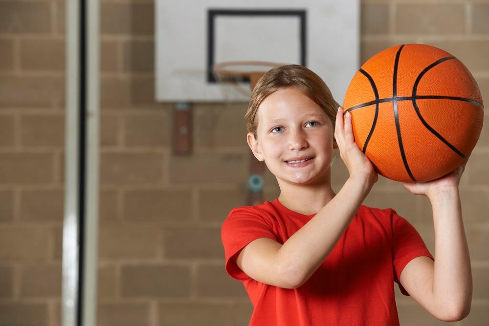 basketball pe lesson